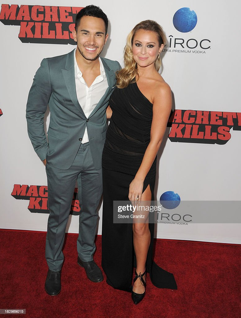 Alexa Vega arrives at the 'Machete Kills' - Los Angeles Premiere at Regal Cinemas L.A. Live on October 2, 2013 in Los Angeles, California.