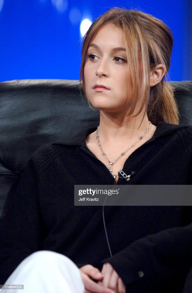 Alexa Vega during 2006 TCA HBO Networks Presentation at Ritz Carlton Hotel Pavilion Room in Pasadena California United States