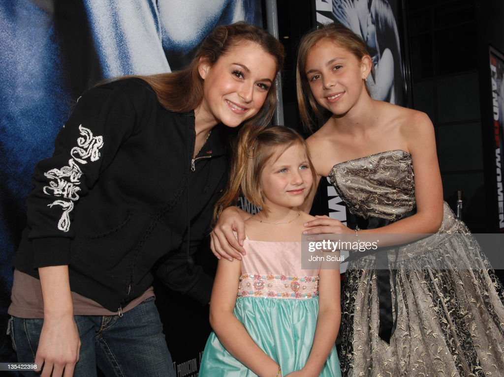 Alexa Vega Greylan Vega and Makenzie Vega during 'In The Land of Women' Los Angeles Premiere Red Carpet at Cinerama Dome in Hollywood California...