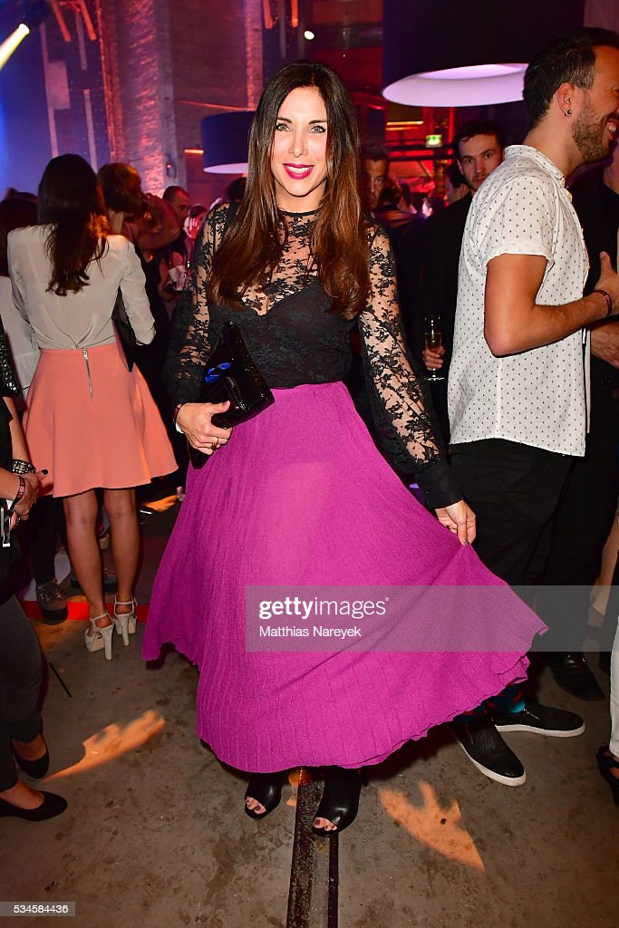 Alexanda Polzin during the New Faces Award Film 2015 at ewerk on May 26, 2016 in Berlin, Germany.