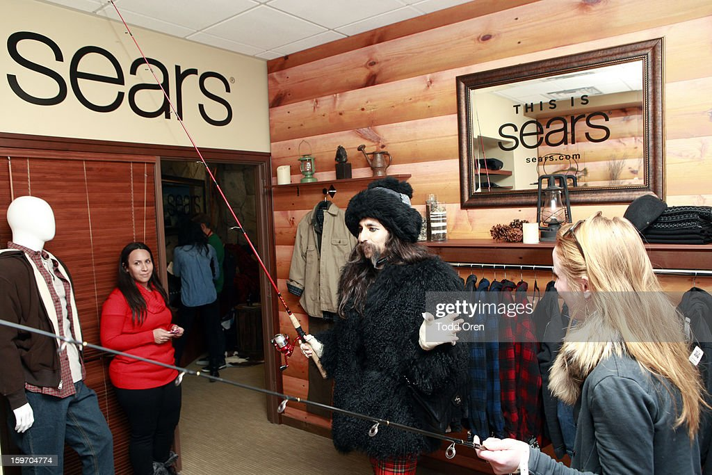 Alexander Antebi (C) attends Sears Shop Your Way Digital Recharge Lounge on January 18, 2013 in Park City, Utah.