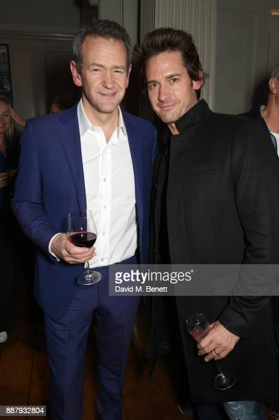 Alexander Armstrong and WIll Kemp attend a private view after party for new Royal Academy Of Arts exhibition 'From Life' hosted by artist Jonathan...