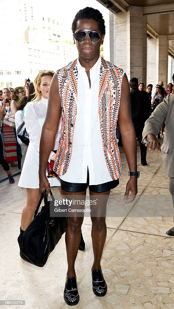 J. Alexander attends 2014 Mercedes-Benz Fashion Week during day 4 on September 8, 2013 in New York City.