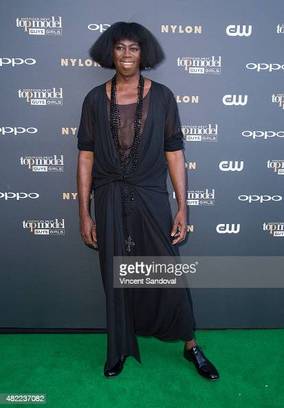 J Alexander attends 'America's Next Top Model' Cycle 22 premiere party at Greystone Manor on July 28 2015 in West Hollywood California