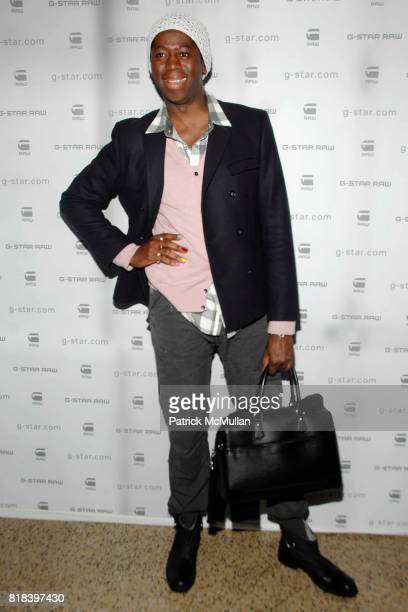 J Alexander attends GSTAR RAW Presents NY RAW Fall/Winter 2010 Collection Arrivals at Hammerstein Ballroom on February 16 2010 in New York City