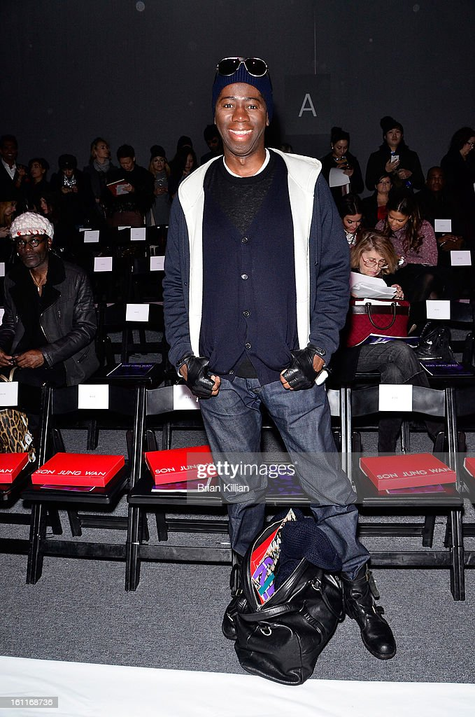 J. Alexander attends Son Jung Wan during Fall 2013 Mercedes-Benz Fashion Week at The Studio at Lincoln Center on February 9, 2013 in New York City.