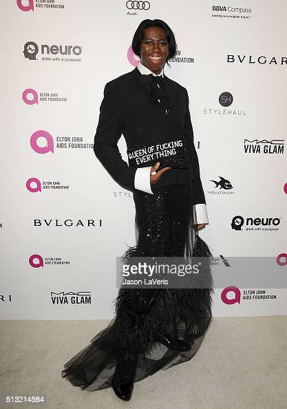 J Alexander attends the 24th annual Elton John AIDS Foundation's Oscar viewing party on February 28 2016 in West Hollywood California