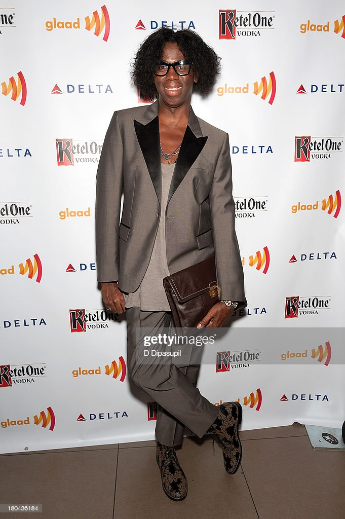 <a gi-track='captionPersonalityLinkClicked' href=/galleries/search?phrase=J.+Alexander&family=editorial&specificpeople=698504 ng-click='$event.stopPropagation()'>J. Alexander</a> attends the GLAAD Manhattan Summer 2013 Benefit at Gansevoort Park Avenue on September 12, 2013 in New York City.