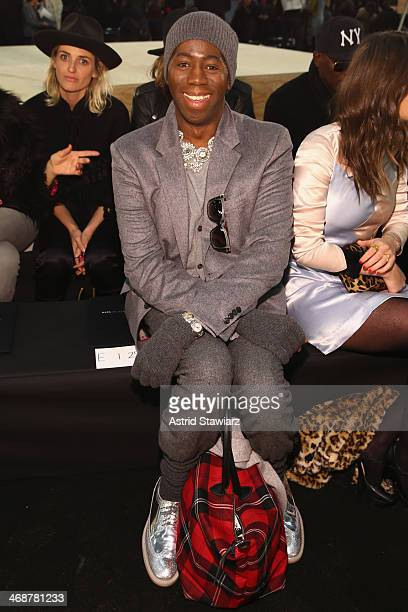 J Alexander attends the Marc By Marc Jacobs fashion show during MercedesBenz Fashion Week Fall 2014 at Pier 36 on February 11 2014 in New York City