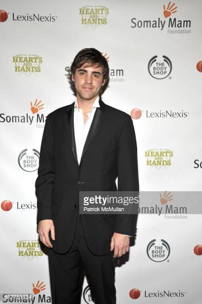 Alexander Berardi attends SOMALY MAM FOUNDATION's Hearts Hand's Gala with SUSAN SARANDON at Capitale on October 26 2010 in New York City