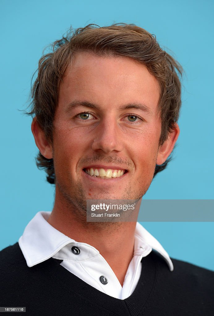 Alexander Björk of Sweden poses for a photograph during the first round of European Tour qualifying school final stage at PGA Catalunya Resort on November 10, 2013 in Girona, Spain.