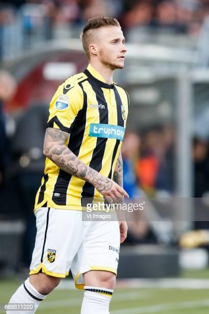 Alexander Buttner of Vitesseduring the Dutch Eredivisie match between sbv Excelsior Rotterdam and Vitesse Arnhem at Woudenstein stadium on April 15...