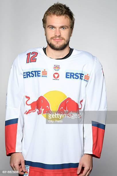 Alexander Cijan of EC Red Bull Salzburg during the portrait shot September 16 2016 in Salzburg Austria