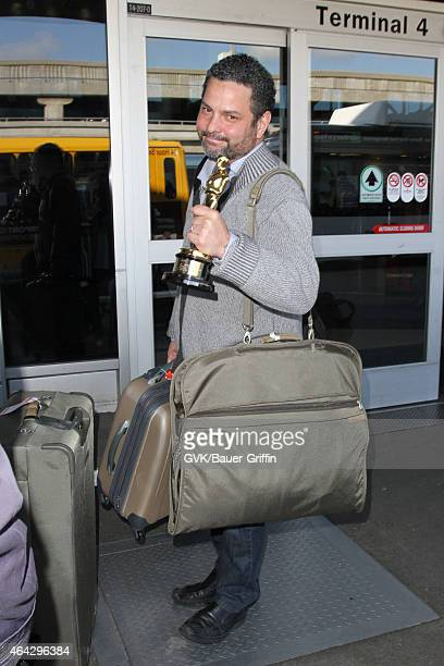 Alexander Dinelaris seen at LAX on February 23 2015 in Los Angeles California
