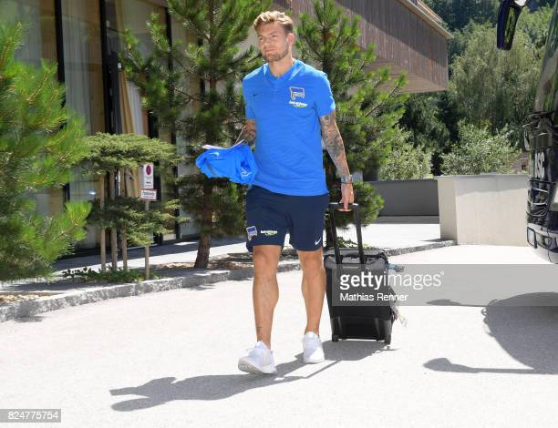 Alexander Esswein of Hertha BSC during a training camp on July 31 2017 in Schladming Austria