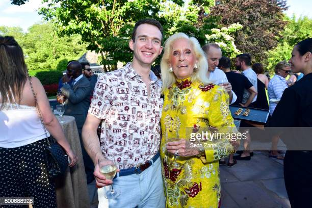 Alexander Etter and Cynthia Frank attend Maison Gerard Presents Marino di Teana A Lifetime of Passion and Expression at Michael Bruno and Alexander...