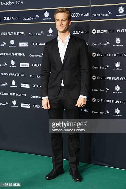Alexander Fehling attends the 'Im Labyrinth des Schweigens' Green Carpet Arrivals during Day 2 of Zurich Film Festival 2014 on September 26 2014 in...