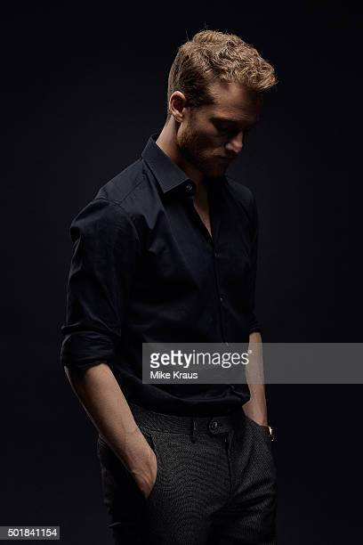 Alexander Fehling is photographed for Self Assignment on July 15 2015 in Munich Germany