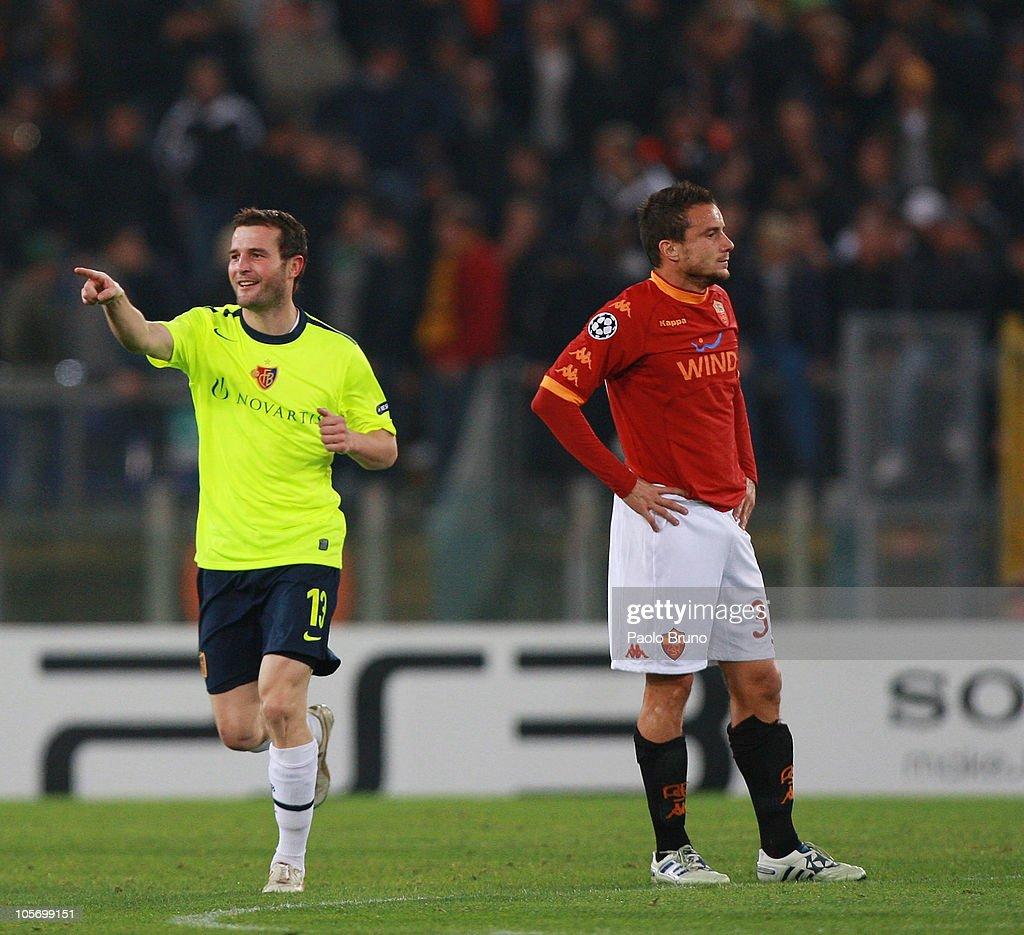 AS Roma v FC Basel - UEFA Champions League