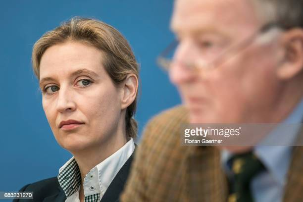 Alexander Gauland campaign leader of Germany's rightwing populist Alternative for Germany party for the next German general election is captured in...