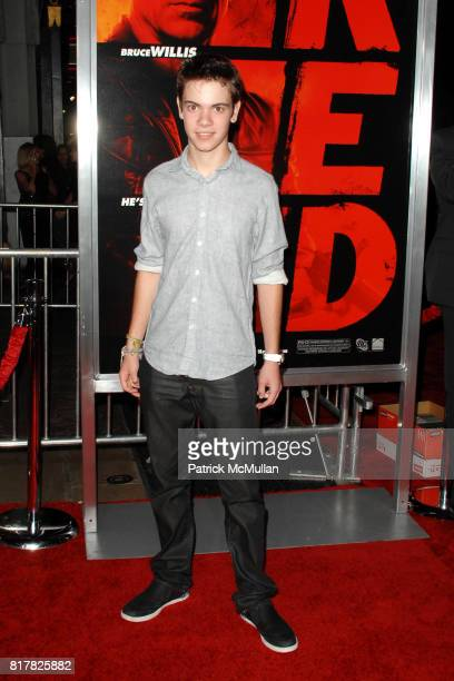 Alexander Gould attends Los Angeles Special Screening of RED at Grauman's Chinese Theater on October 11 2010 in Hollywood California