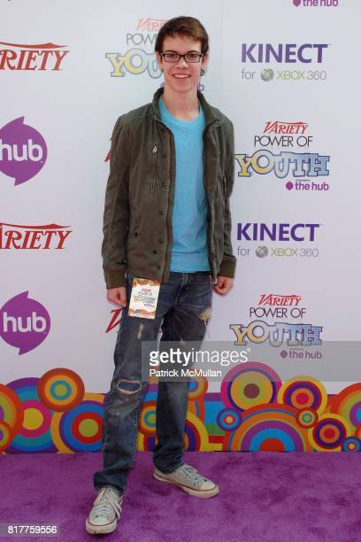 Alexander Gould attends Variety's 4th Annual Power of Youth Event at Paramount Studios on October 24 2010 in Los Angeles California