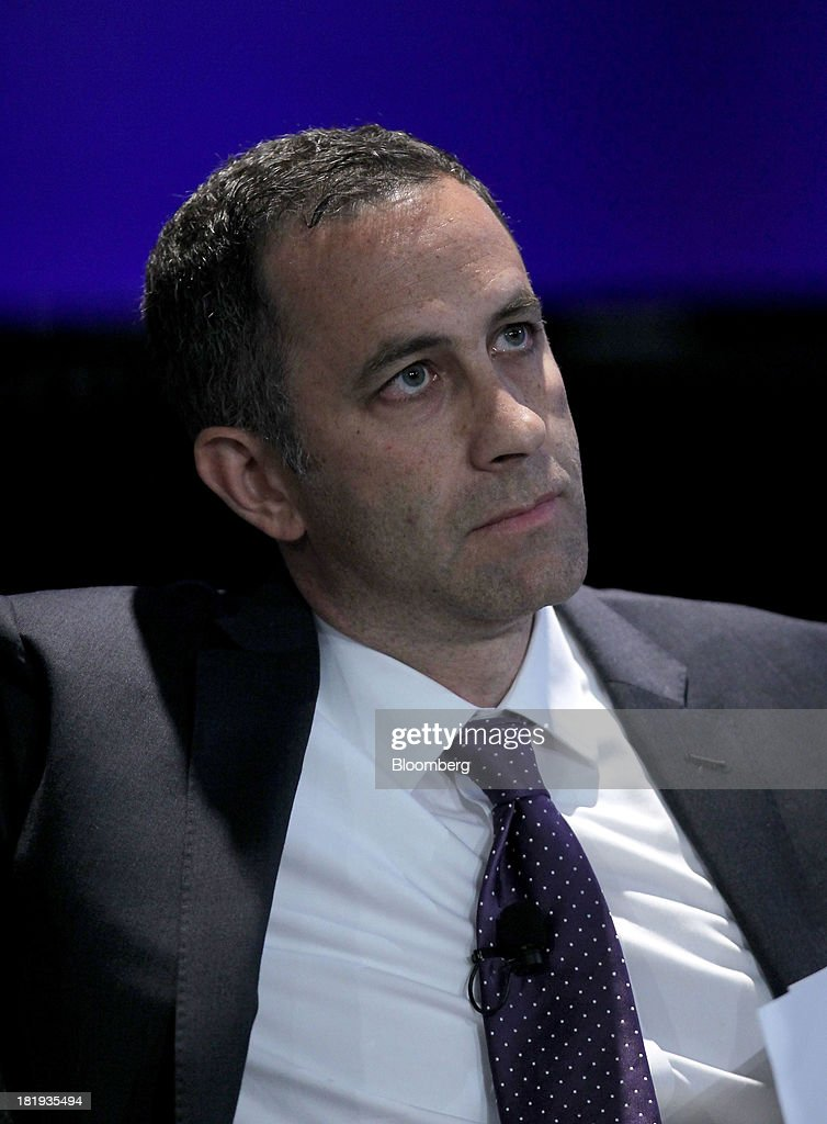 Alexander Grashow, chief executive officer of Alexander Grashow Consulting, listens during the annual meeting of the Clinton Global Initiative (CGI) in New York, U.S., on Thursday, Sept. 26, 2013. CGI's 2013 theme, mobilizing for impact, explores ways that members and organizations can be more effective in leveraging individuals, partner organizations, and key resources in their commitment efforts. Photographer: Jin Lee/Bloomberg via Getty Images