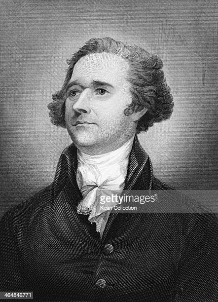 Alexander Hamilton a Founding Father of the United States circa 1790 Engraved by H B Hall Jr after a painting by L W Gilbs