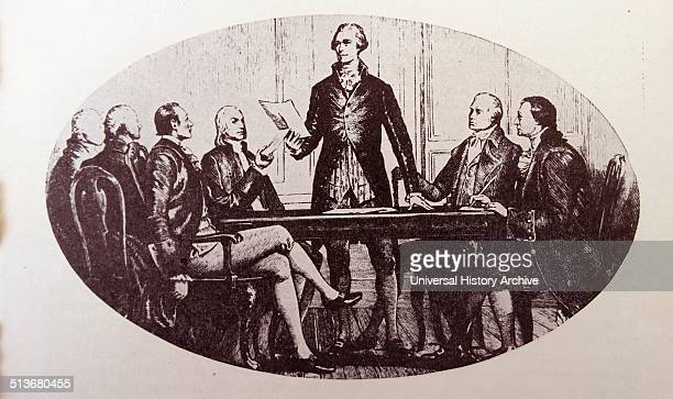 Alexander Hamilton first United States Secretary of the Treasury 17891795 appointed by George Washington One of the founding fathers of the United...