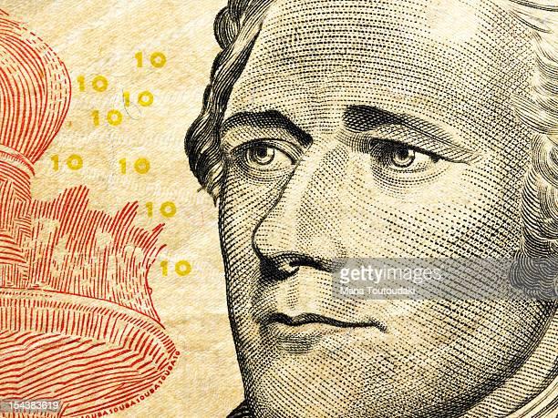Alexander Hamilton's portrait