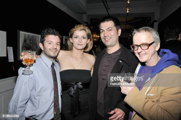 Alexander Hirschorn Klebanoff Jessie Mann Jeffrey Ditei Hall and Steven Charles attend BOMB Magazine's 29th Anniversary Gala and Silent Auction at...