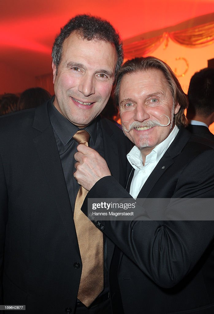 Alexander Hold and Ingo Lenssen attend the Sat.1 GOLD TV Channel Launch at the Filmcasino on January 17, 2013 in Munich, Germany.