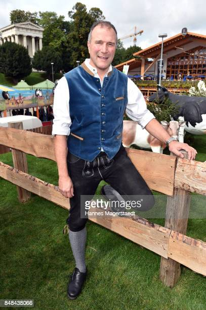 Alexander Hold during the ProSieben Sat1 Wiesn as part of the Oktoberfest 2017 at Kaefer Tent on September 17 2017 in Munich Germany