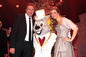 Alexander Hold Nina Eichinger during the 20th Annual Jose Carreras Gala on December 18 2014 in Rust Germany