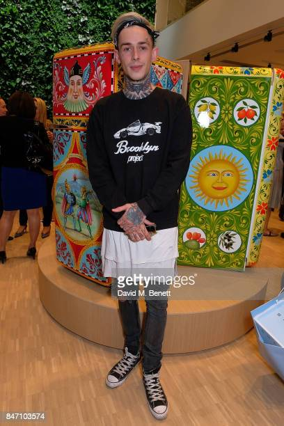 Alexander James attends the opening party for the new smeg flagship store on Regents Street on September 14 2017 in London England