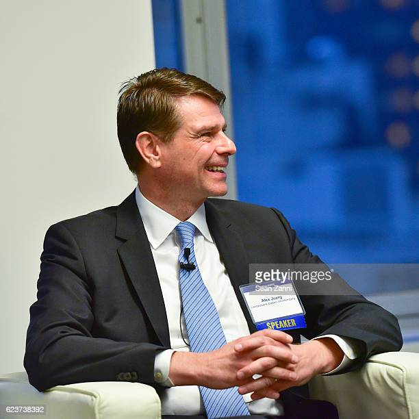 Alexander Joerg attends The Commercial Observer Financing Commercial Real Estate at 666 Fifth Avenue on November 15 2016 in New York City