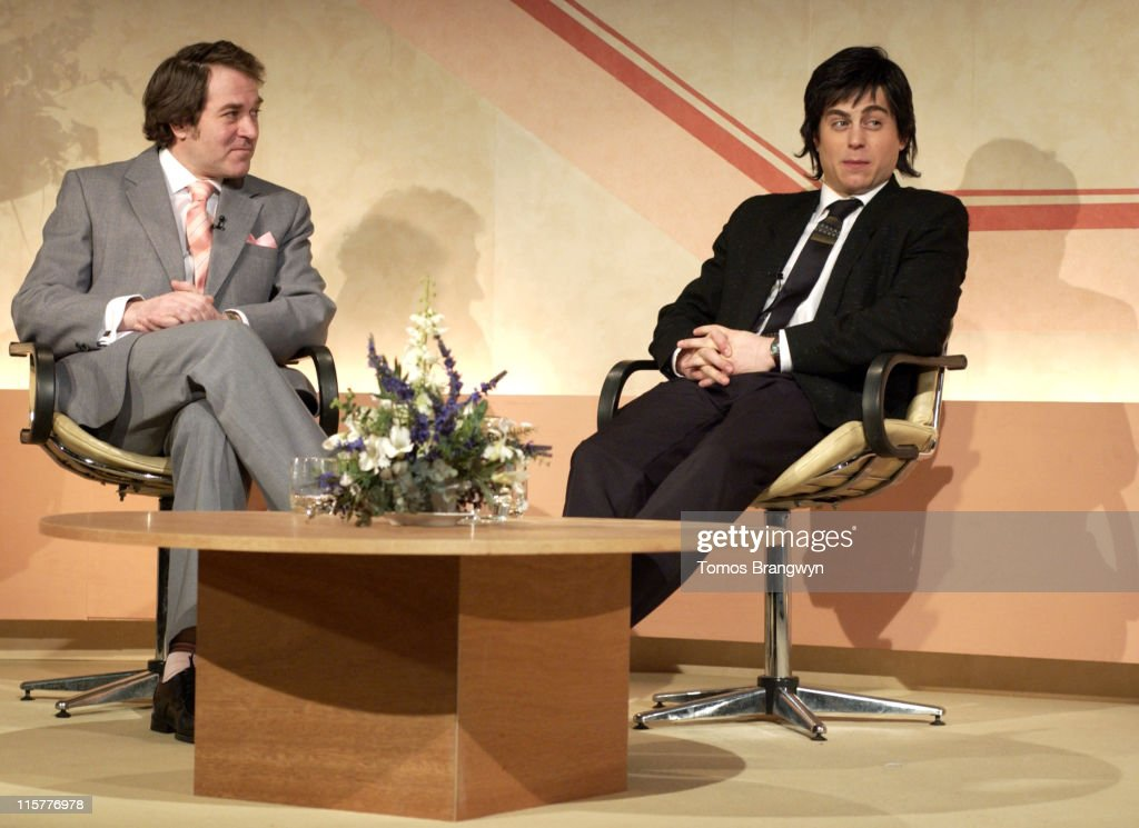 Alexander Kirk as Ferguson (L) and Kevin Bishop as <a gi-track='captionPersonalityLinkClicked' href=/galleries/search?phrase=Dudley+Moore&family=editorial&specificpeople=209351 ng-click='$event.stopPropagation()'>Dudley Moore</a>