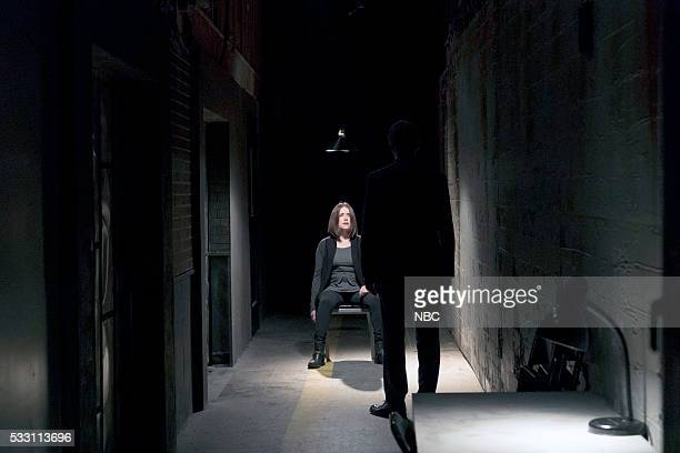 THE BLACKLIST 'Alexander Kirk Conclusion' Episode 323 Pictured Megan Boone as Elizabeth Keen