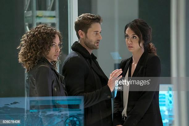 THE BLACKLIST 'Alexander Kirk' Episode 322 Pictured Tawny Cypress as Nez Rowan Ryan Eggold as Tom Keen Mozhan Marno as Samar Novabi