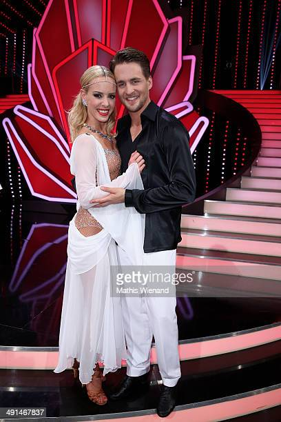 Alexander Klaws and Isabel Edvardsson attend the 7th 'Lets Dance' Show on May 16 2014 in Cologne Germany