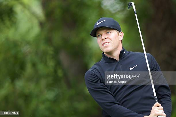 Alexander Knappe from Germany during the 1st round of the Volopa Irish Challenge at Mount Wolseley Hotel Spa and Golf Resort on September 8 2016 in...