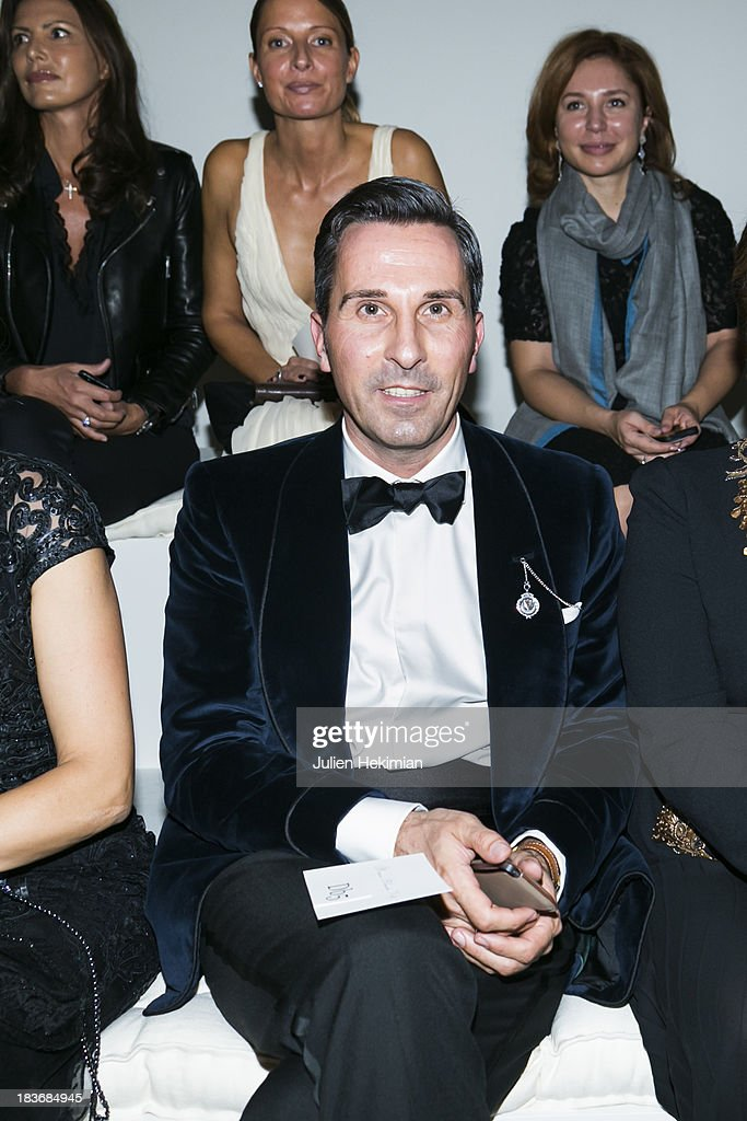 Alexander Kraft attends the presentation of the Ralph Lauren Fall 13 Collection Show at Les Beaux-Arts de Paris on October 8, 2013 in Paris, France. On this occasion Ralph Lauren celebrates the restoration project and patron sponsorship of L'Ecole des Beaux-Arts.
