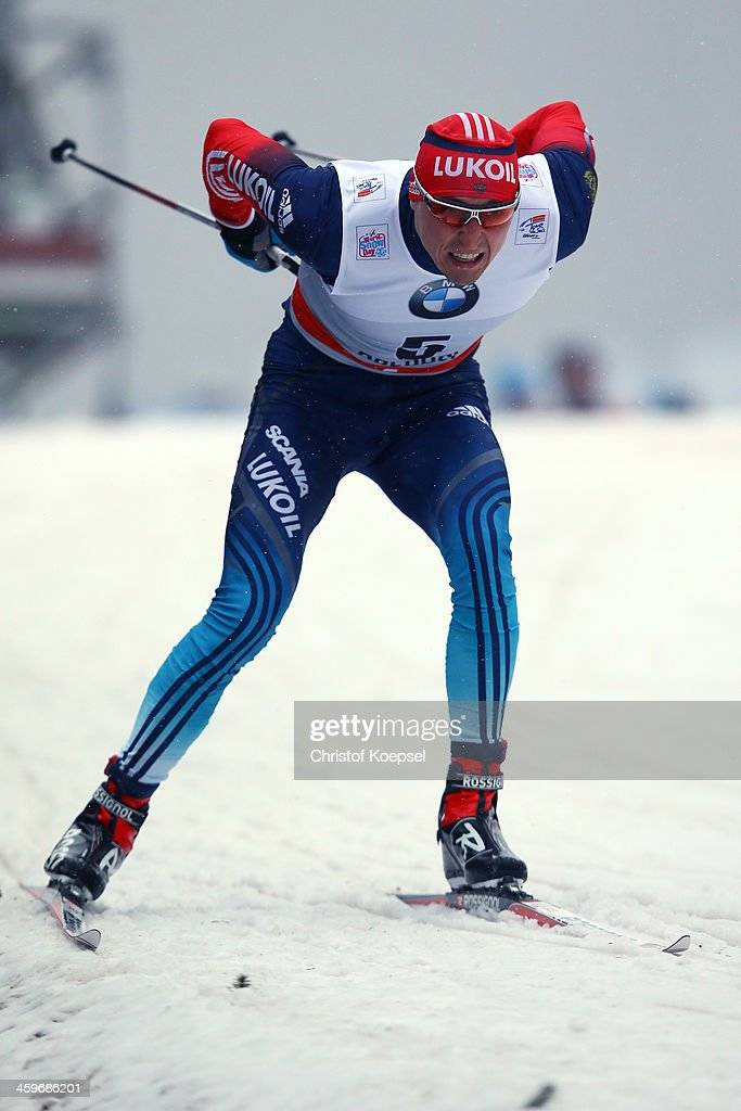 <a gi-track='captionPersonalityLinkClicked' href=/galleries/search?phrase=Alexander+Legkov&family=editorial&specificpeople=4037875 ng-click='$event.stopPropagation()'>Alexander Legkov</a> of Russia competes in the Men's 1,5km qualification free sprint at the Viessmann FIS Cross Country World Cup event at DKB Ski Arena on December 29, 2013 in Oberhof, Germany.