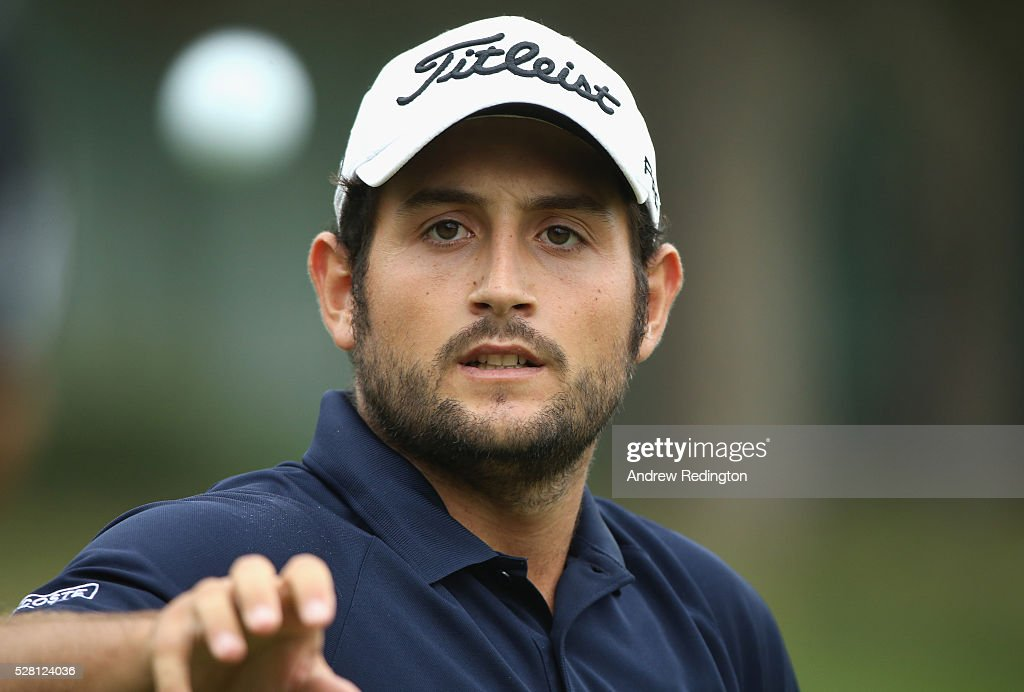 <a gi-track='captionPersonalityLinkClicked' href=/galleries/search?phrase=Alexander+Levy&family=editorial&specificpeople=7291847 ng-click='$event.stopPropagation()'>Alexander Levy</a> of France smiles on the driving range during the Pro Am prior to the start of the Trophee Hassan II at Royal Golf Dar Es Salam on May 4, 2016 in Rabat, Morocco.