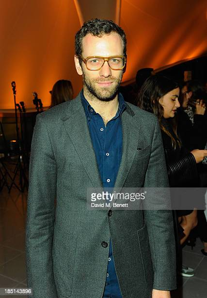 Alexander Lewis attends a Cocktail party to Celebrate the Launch of the Book 'Chloe Attitudes' hosted by Sarah Mower and Marc Ascoli at Freer and...