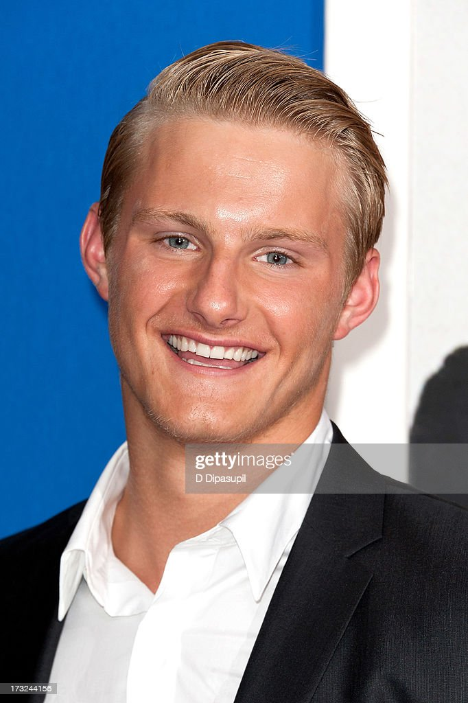 Alexander Ludwig attends the 'Grown Ups 2' New York Premiere at AMC Lincoln Square Theater on July 10, 2013 in New York City.