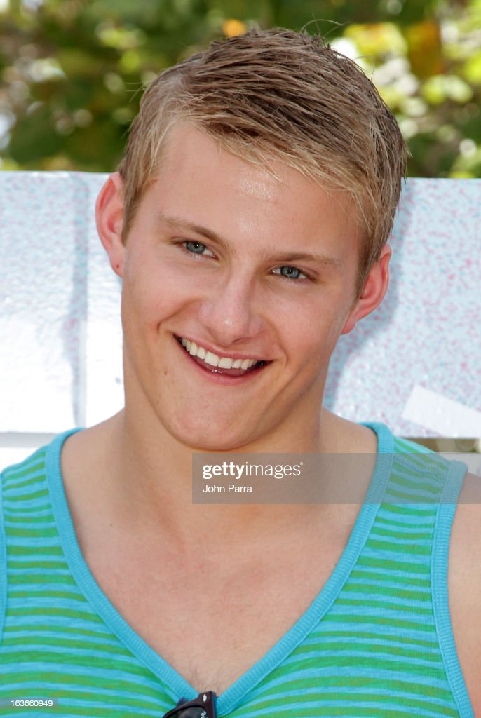 Alexander Ludwig attends the Victoria's Secret PINK Ultimate Spring Break Dance Party in Miami at Raleigh Hotel on March 13, 2013 in Miami Beach, Florida.