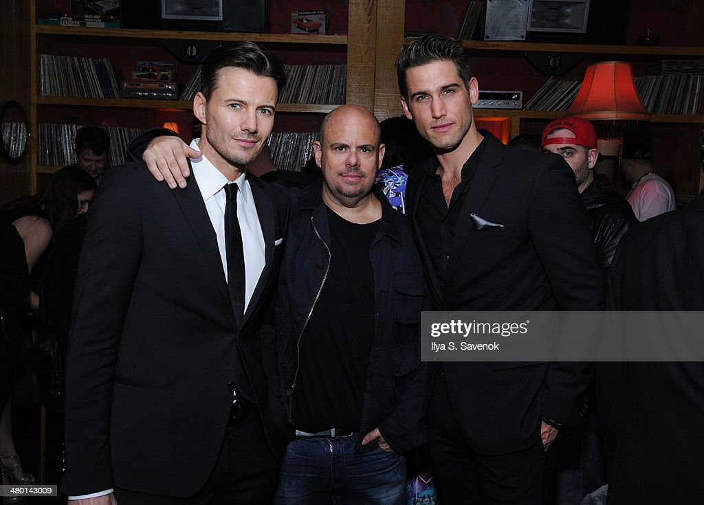 Alexander Lundqvist, Jason Kanner, and Bryce Thompson attend 2nd Supermodel Saturday at No.8 on March 22, 2014 in New York City.