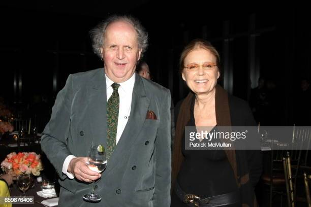 Alexander McCall and Gloria Steinem attend HBO Presents A Screening Of 'The No 1 Ladies' Detective Agency' at Time Warner Center on March 18 2009 in...