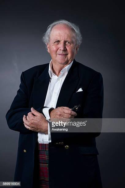 Alexander McCall Smith attends the Edinburgh International Book Festival on August 15 2016 in Edinburgh Scotland The Edinburgh International Book...